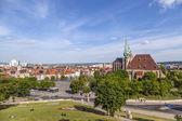 Dom hill of Erfurt Germany  — Stock Photo