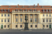 Carl-August Monument (Weimar)  — Stock Photo