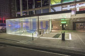 U-Bahn station Theaterplatz by night — Stock Photo
