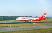 Air berlin que boeing 737 atterrit — Photo