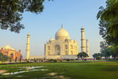 Taj Mahal in sunrise light, Agra, India  — Stock Photo