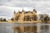 Famous schwerin castle , Germany — Stock Photo