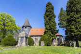 Famous old church in Osterheide — Stock Photo