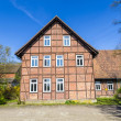 Half timbered house under clear blue sky — Stock Photo #45269229