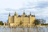 Célèbre château de schwerin, Allemagne — Photo