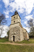 Old church in the small village of Benz — Stock Photo