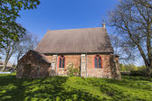 Old church of Netzelkow  — Stock Photo