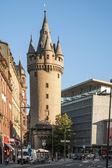 Eschersheimer turm in Frankfurt — Stock Photo