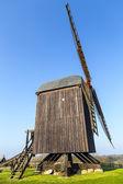 Wind mill of Pudalga baltic coast, Germany  — Stock Photo