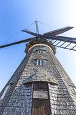 Dutch windmill in Benz — Stock Photo