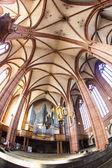 красивый потолок и холл в купол wetzlar — Стоковое фото