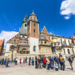 Постер, плакат: Archcathedral Basilica of Saints Stanislaus and Wenceslaus on th