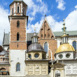 Постер, плакат: People visit Archcathedral Basilica of Saints Stanislaus and Wen