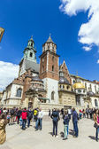 Archcathedral Basilica of Saints Stanislaus and Wenceslaus on th — Stock Photo