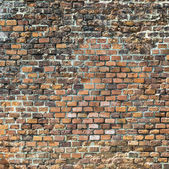 Harmonic red brick wall   — Stock Photo
