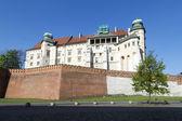 Wawel royal castle in Krakow, Poland  — Stock Photo