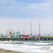 Amuesment Park at Steel Pier Atlantic City, NJ — Stock Photo #46708617