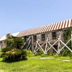 ������, ������: Old ruinous historic hut in an old South Carolina farm
