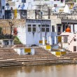 View of the holy sacred place for Hindus town Pushkar — Stock Photo #47166869