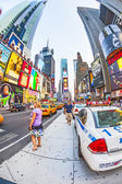 Times square in New York in afternoon light — Foto Stock