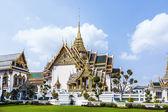 Phra Tinang Aporn Phimok Prasat Pavillion in the Grand Palace in — Stock Photo