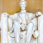 Постер, плакат: Statue of Abraham Lincoln at the Lincoln Memorial