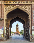 Famous victorian clock tower in Jodhpur — Stock Photo