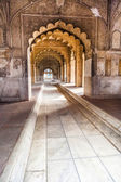 Hall of Private Audience or Diwan I Khas at the Lal Qila - Red F — Stock Photo