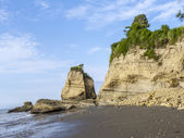 coast at playa de sua in atacamas, equador — Stock Photo