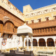 Junagarh Fort in city of Bikaner rajasthan state in india — Stock Photo #48372123