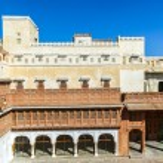 Junagarh Fort in city of Bikaner rajasthan state in india  — Stock Photo #48373499