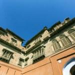 Main courtyard of Junagarh fort, Bikaner, Rajasthan, India  — Stock Photo #48374317
