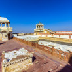 Junagarh Fort in city of Bikaner rajasthan state in india  — Stock Photo #48377613
