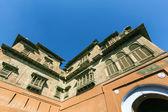 Main courtyard of Junagarh fort, Bikaner, Rajasthan, India  — Stock Photo