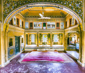Beautiful old haveli in Mandawa — Stock Photo