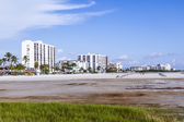 Sea promenade at Fort myers Beach — Stock Photo