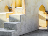Astronomical instrument at Jantar Mantar observatory — Stock Photo