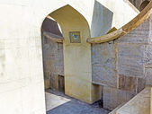 Astronomical instrument at Jantar Mantar observatory — Stockfoto