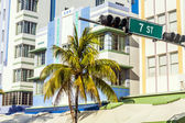 Midday view at Ocean drive — Stock Photo