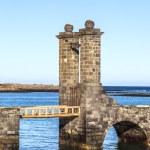 Castle Castillo de San Gabriel in Arrecife, Lanzarote, Canary Is — Stock Photo #48825399