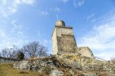 old Falkenstein castle under clear blue sky — Stock Photo