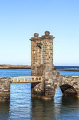 Castle Castillo de San Gabriel in Arrecife, Lanzarote, Canary Is — 图库照片