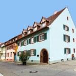 Street scenery in Freiburg im Breisgau, a city in Southern Germa — Stock Photo #48837369