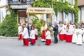 Johannis procession in Oberrrotweil, Germany — Stock Photo