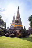 Stupa in  Ajutthaya — Stock Photo