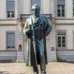 Постер, плакат: Statue of Robert Wilhelm Bunsen in Heidelberg