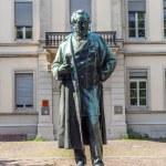 Statue of Robert Wilhelm Bunsen in Heidelberg — Stock Photo #48965585