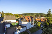 Small village of Brandoberndorf with half timbered houses — Stock Photo