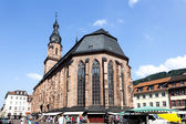 Church of the Holy Spirit in Heidelberg — Stock Photo