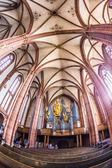 Bellissimo soffitto e la sala della cupola a wetzlar — Foto Stock